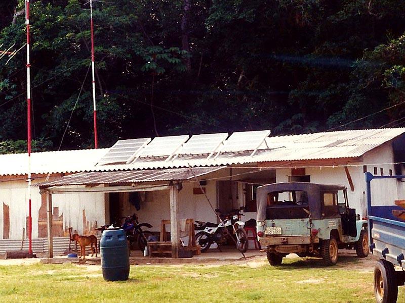 Eletrificação Rural Estação Ecológica Jureia Secretaria Meio Ambiente SP